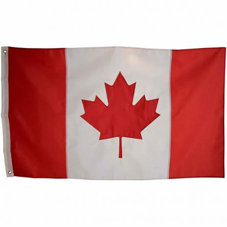 Ruffin Flag Canada 3ft x 5ft Polyester Flag