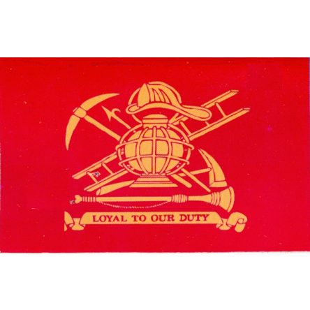 Ruffin Flag Firefighter, Loyal to Our Duty 3ft x 5ft Polyester Flag
