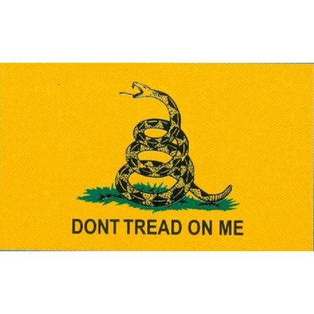 Ruffin Flag Gadsden, Don't Tread on Me 3ft x 5ft Polyester Flag