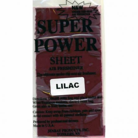 Jenray Lilac Super Power Sheet, Under the Seat Air Freshener