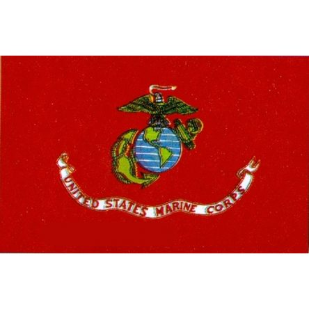 Ruffin Flag Marine Corps. Seal 3ft x 5ft Polyester Flag