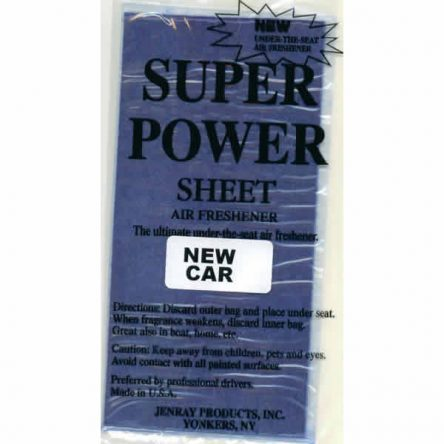 Jenray New Car Super Power Sheet, Under the Seat Air Freshener