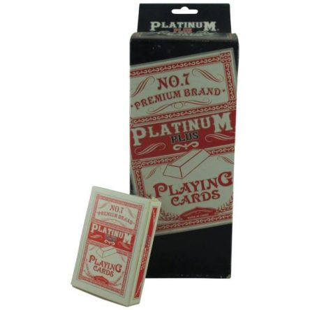 Platinum Playing Cards 12ct