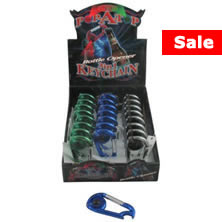 24 count LED Pop-A-Top 3-in-1 keychain